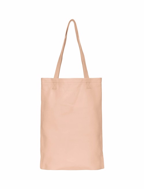 Tote Bag Leather <br /> Blush