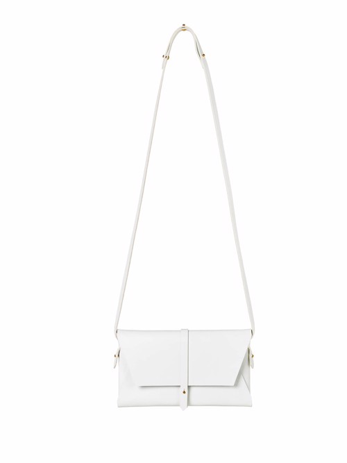 Unity Shoulder Bag <br /> Hvid