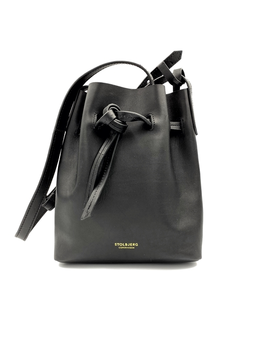 Mini Bucket Bag <br /> sort skuldertaske
